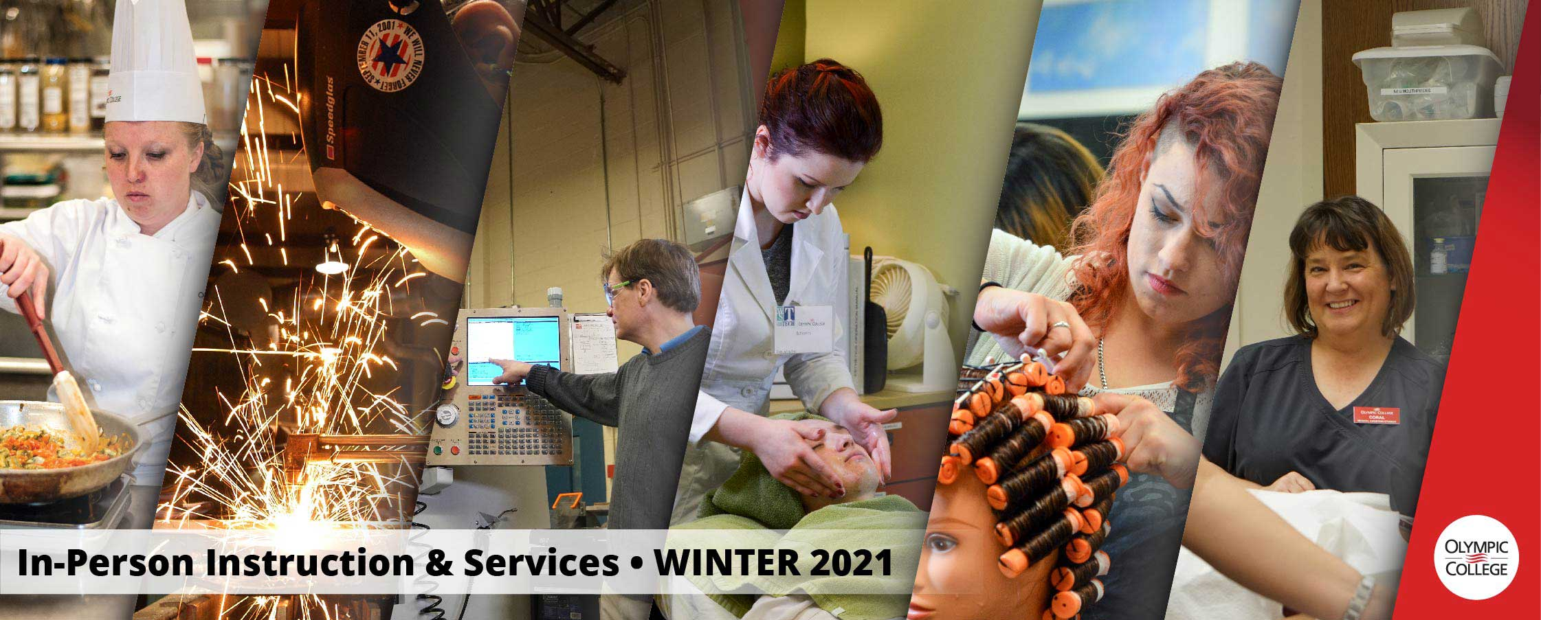 In-Person Instruction & Services, Winter 2021