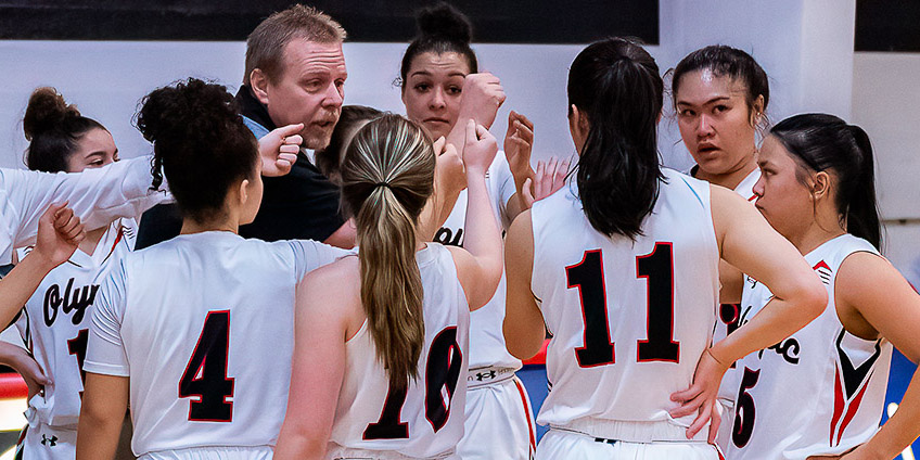 Olympic College Women's Basketball team