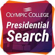 Presidential search logo - Olympic College is conducting a nationwide search to identify its next President