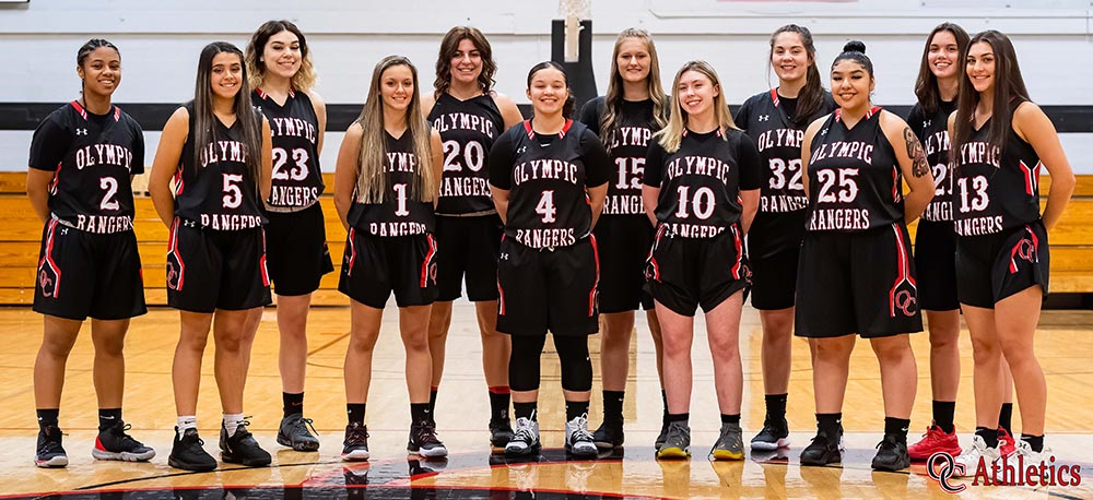 Olympic College women's basketball team 2019-2020
