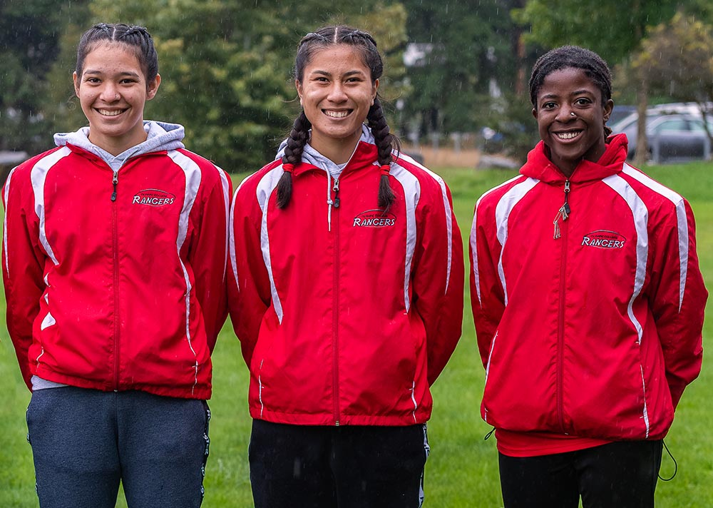 Olympic College Women's Cross Country team photo