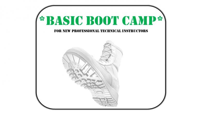 Boot Camp for Professional Technical Instructors
