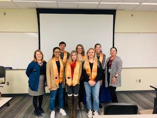 Beta Gamma Eta Officer Team 2019-2020