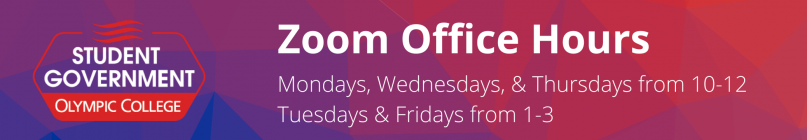 Office hours are Mondays, Wednesdays, and Thursdays from 10 to 12 and Tuesdays and Fridays from 1-3