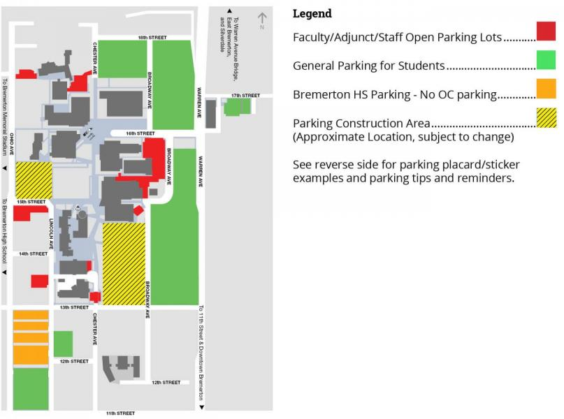 CIC Parking Map