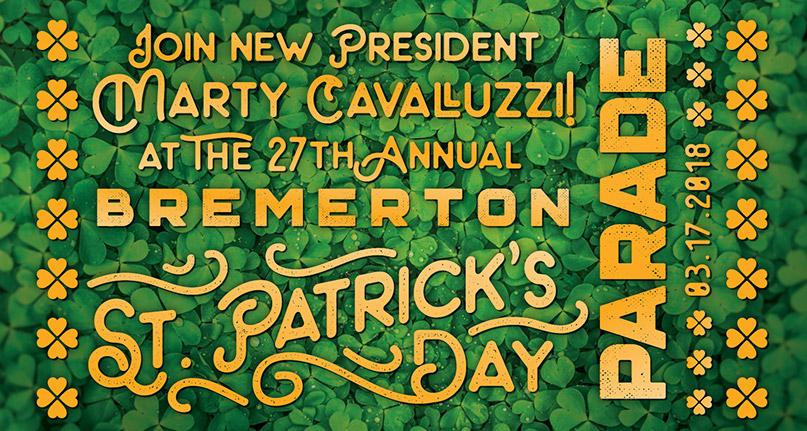 Join us at the St. Patrick's Day Parade!
