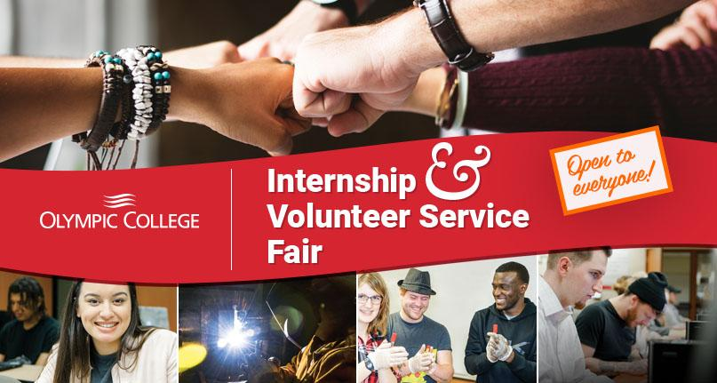 Olympic College Internship and Volunteer Service Fair 2017- Open to everyone!