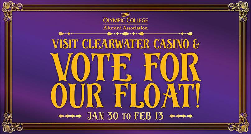 Vote for our Float - Fat Tuesday Parade