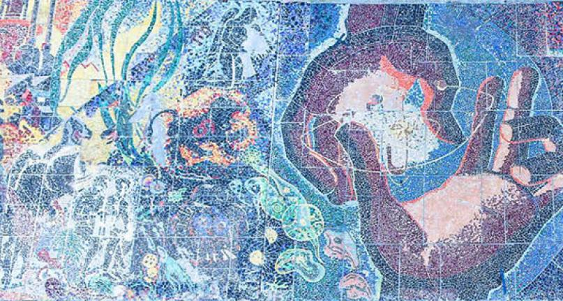 Picture of The Progress of Man Mosaic