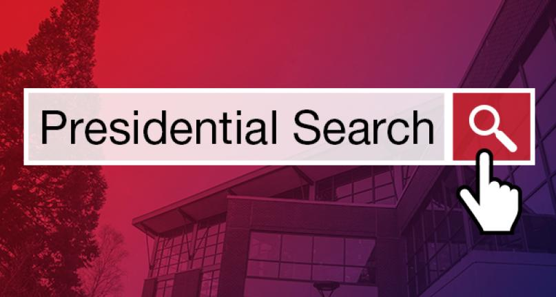 Presidential Search graphic.