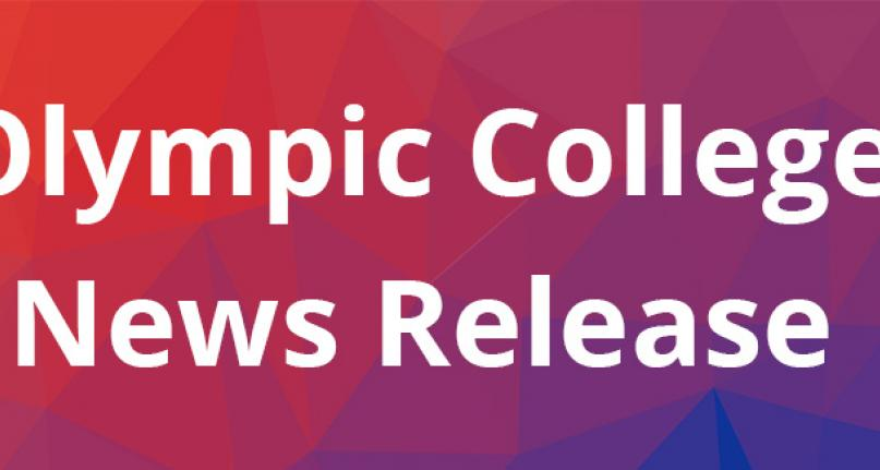 Olympic College News Release