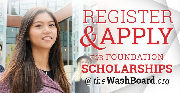 Register and Apply for Foundation Scholarship