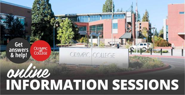 Olympic College Online Information Sessions