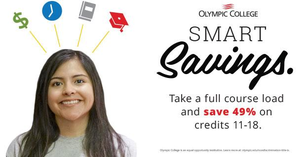 Smart Savings. Save 49% on credits 11-18.