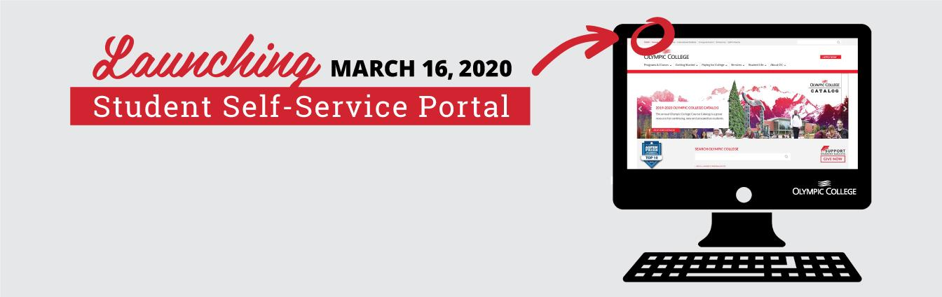 Student Self-Service Portal coming March 13