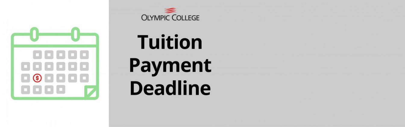 Tuition Payment Deadline