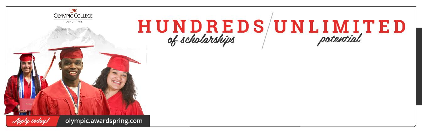 OC Foundation Scholarships diverse students in red cap and gown