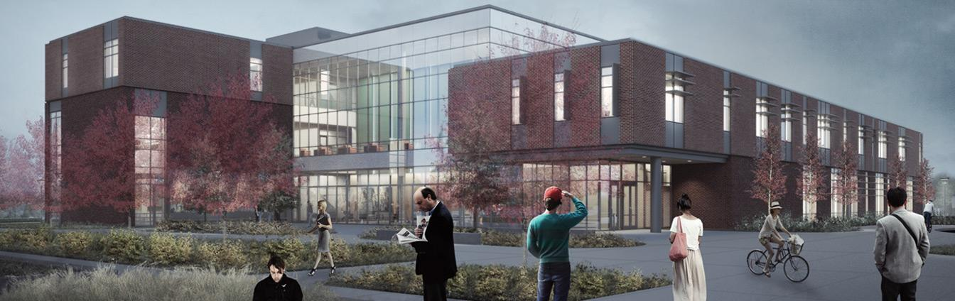 College Instruction Center architectural rendering
