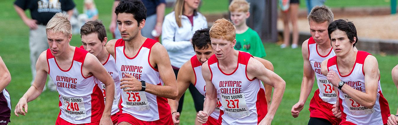 Olympic College Men's Cross Country