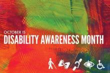 disability awareness month poster
