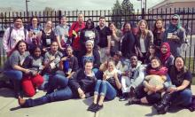 Photo of the Olympic College delegates for the Student of Color Conference 2018 in Yakima, Washington