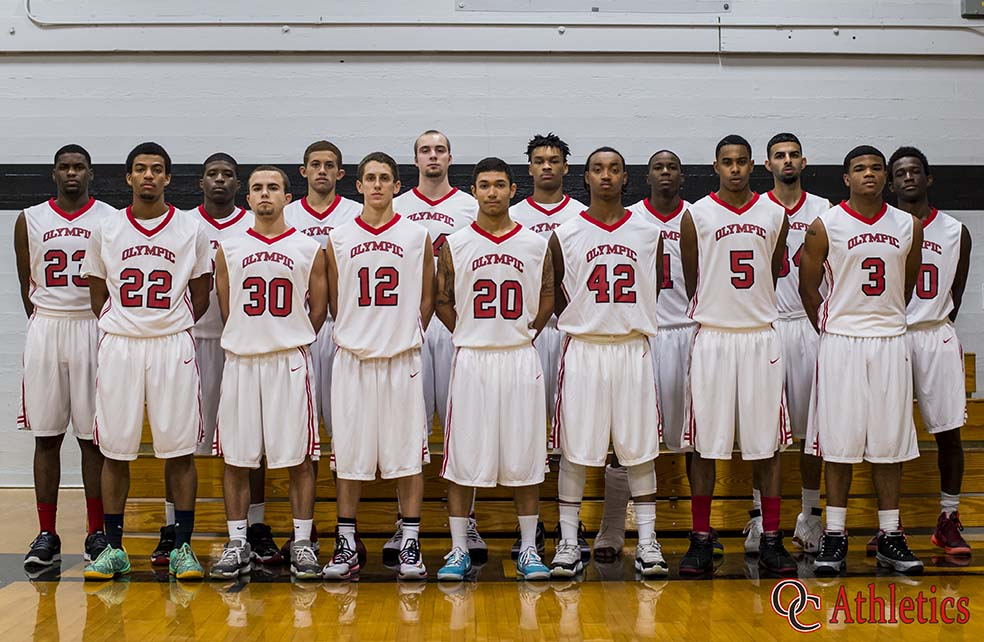 2014-2015 Men's Basketball Roster   Olympic College