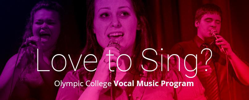 """""""Love to Sing?"""" image."""