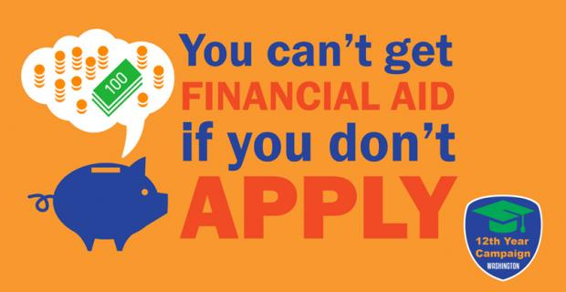 You can't get financial aid if you don't apply.